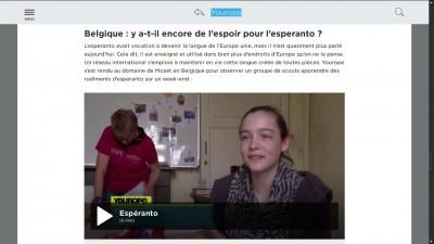 Esperanto sur ARTE