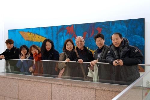 LLG staĝo.ekskurso en nacia moderna muzeo