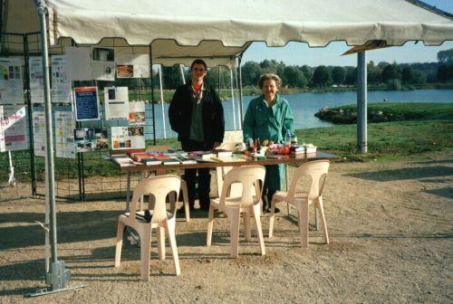 Chantal et Tom exposent à Bouvent en 2013