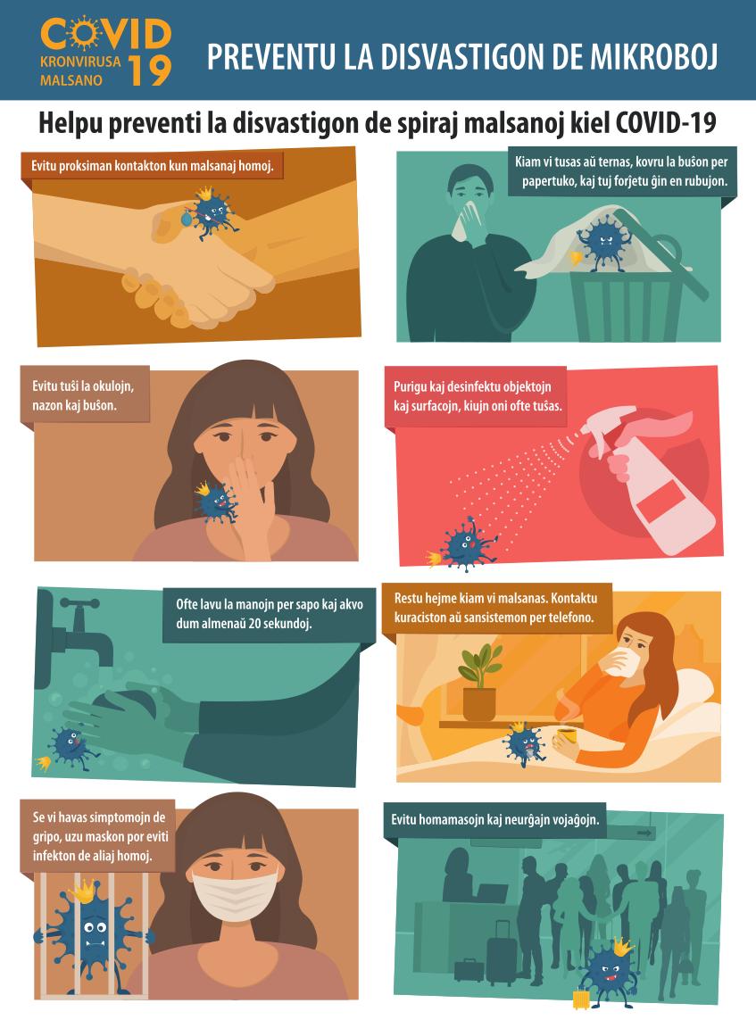 Kronvirusa prevento